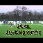 Goals from Grays Ath v Romford fc 1/1/18 Bostick North