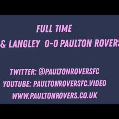 Blackfield & Langley 0 Paulton Rovers 0   Match Highlights