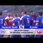 Haywards Heath Town vs Arundel - 10th April 2018