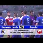 Haywards Heath Town vs Arundel - 10th April 2018