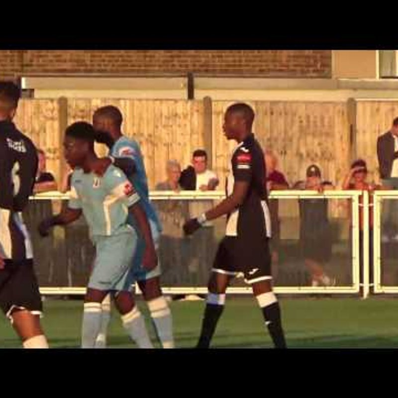 The Stan Veness Cup 2017 - Tilbury 0-2 Grays Athletic - Match Highlights
