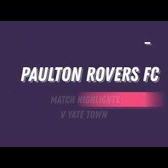 Paulton Rovers 1 - 0 Yate Town FC