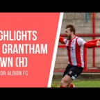 MATCH HIGHLIGHTS   Witton Albion 1 Grantham Town 0