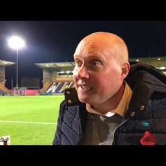 FA CUP - Immediate reaction from Mark Jones .