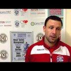 TONBRIDGE ANGELS VS ENFIELD TOWN - Post match interview 8/03/2016