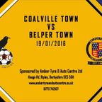 Coalville Town 3 - 2 Belper Town 23rd January 2016 Highlights