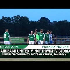 [NVTV][PRESEASON]Sandbach United Vs Northwich Victoria [HIGHLIGHTS]