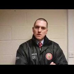 Harlow Town FC vs Aylesbury post match interview - 31/10/17