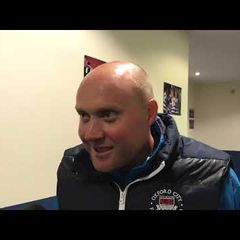POST MATCH INTERVIEW - Oxford City 4-1 Dartford