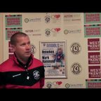 TONBRIDGE ANGELS VS MAIDSTONE UTD - Post match interviews 22/08/2017