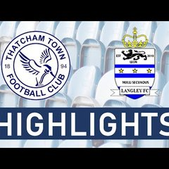 Thatcham Town FC Development vs Langley FC | Highlights