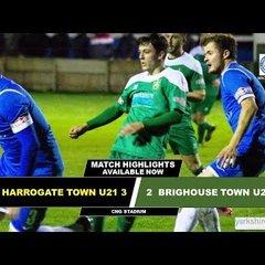 05/03/18 - Harrogate Town U21 3-2 Brighouse Town U21