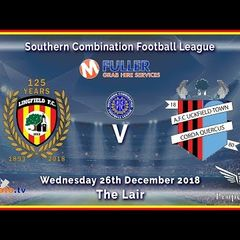 HIGHLIGHTS - Lingfield FC v AFC Uckfield Town - League - 26-12-2018