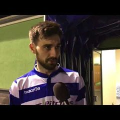 INTERVIEW - Matt Paterson following Oxford City 3-1 Truro City