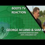 INTERVIEW - George Acland and Sam Bailey after our 2-1 win