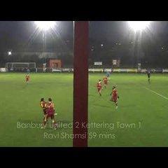 Banbury United 4 Kettering Town 1 - 15 Dec 2018 - The Five Goals