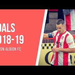 WITTON ALBION GOALS SELECTION 2018-19
