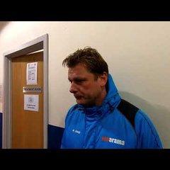 POST MATCH INTERVIEW - Oxford City 4-0 Truro City - Justin Merritt's Reaction