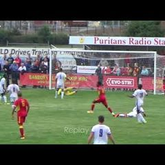 Banbury United v Halesowen Town - 14 Aug 2018 - Match Highlights