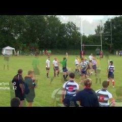 Martyrs vs Samurai Bulldogs