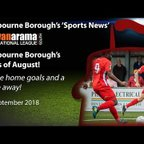 'Sports News': Eastbourne Borough's Goals of August - National League South