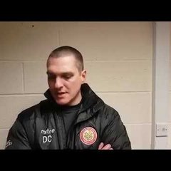 Harlow Town FC vs Worthing post match interview - 02/12/17