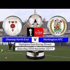 Glossop North End v Workington AFC 25/11/17