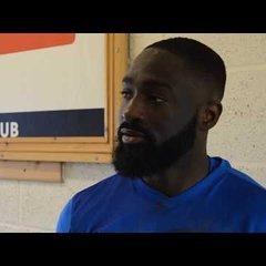 Thatcham Town FC vs Longlevens AFC - Baboucarr Jarra Interview!