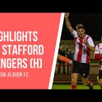 GOALS | Witton Albion 1-1 Stafford Rangers