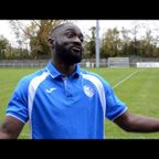 Thatcham Town FC vs Binfield FC - Interview with Baboucarr Jarra