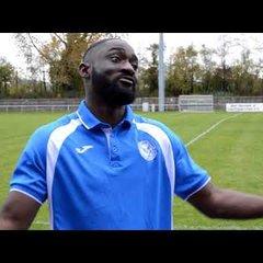 Thatcham Town FC vs Binfield FC - Interview with Baboucarr Jarra