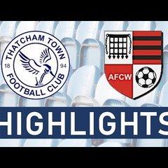 Thatcham Town Development vs Wallingford Town Reserves | Highlights