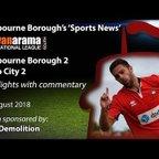 'Sports News': Eastbourne Borough 2 v 2 Truro City - Vanarama National League South Highlights