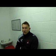 04/03/17 Home v Stotfold - Post Match Interview