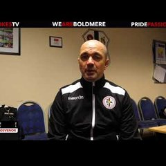 The Mikes TV | The Mikes 2-1 Lye Town | Stuart Grosvenor | Post Match Interview