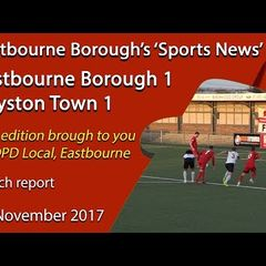 'Sports News': Eastbourne Borough 1 v 1 Royston Town FA Trophy Highlights