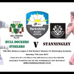 Hull Dockers Steelers v Stanningley Academy 17.6.17