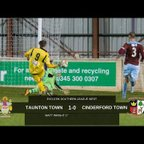 Extended Highlights: Taunton Town 1-0 Cinderford Town