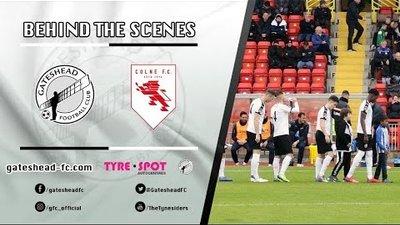 BEHIND THE SCENES: Gateshead vs Colne (Emirates FA Cup)