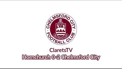 Pre-season Highlights: Hornchurch 0-2 Chelmsford City