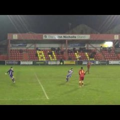 Banbury United 0 Dunstable Town 1 - Tue 22nd Nov 2016 - Match Highlights