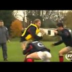 Rugby Coaching Drills - Double-tackle