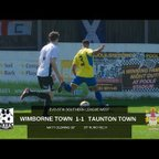 Extended Highlights: Wimborne Town 1-1 Taunton Town