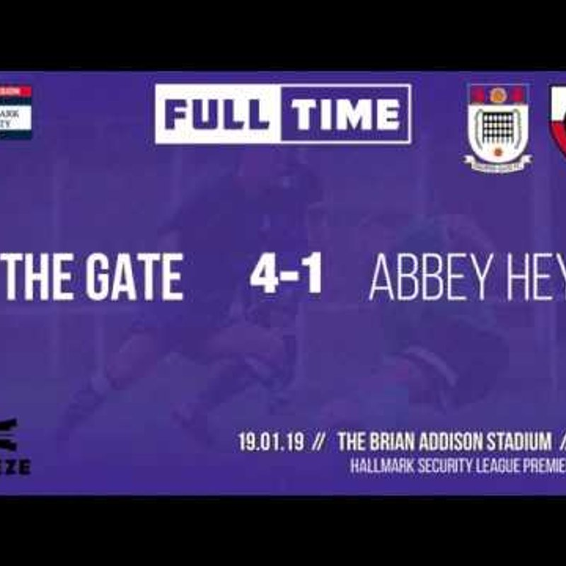 GOALS: Squires Gate 4-1 Abbey Hey