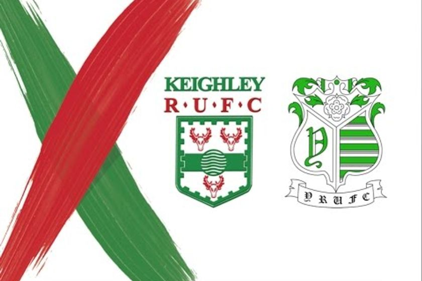 York RUFC v Keighley RUFC - Highlights