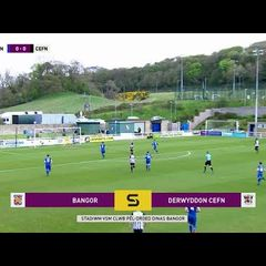 HIGHLIGHTS | Bangor City 1-0 Cefn Druids (22/04/2018)