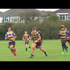 Old Ruts U16XV vs Warlingham U16XV  26-24.  Friendly 17/09/17