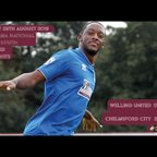 Highlights - Welling United vs Chelmsford City