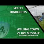 HIGHLIGHTS - Welling Town 2-1 Holmesdale