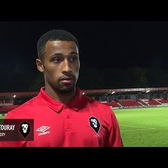 Salford City 2-1 Stockport County - Ibou Touray post-match interview